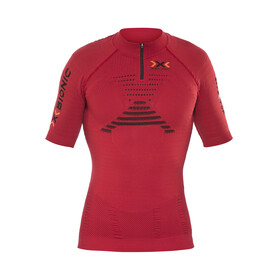 X-Bionic Trail Running Effektor OW SS Zip-Up Shirt Men Paprika/Black